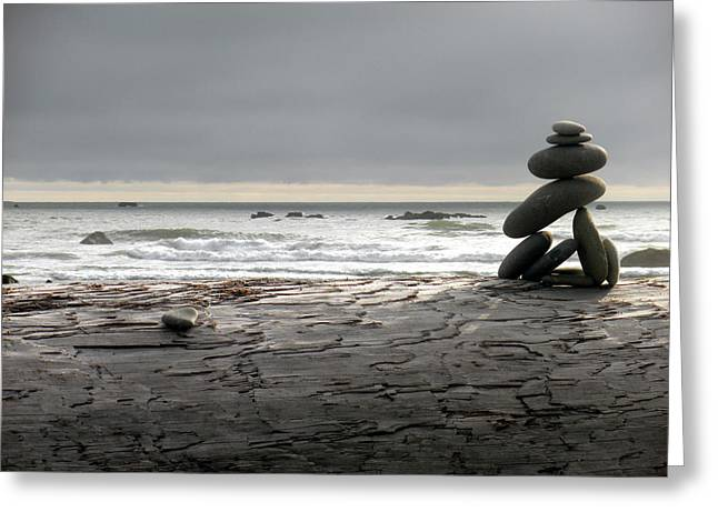 Ruby Beach 1 Greeting Card by Fred Russell