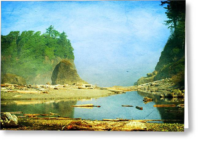 Ruby Beach Dreams Greeting Card by Terrie Taylor