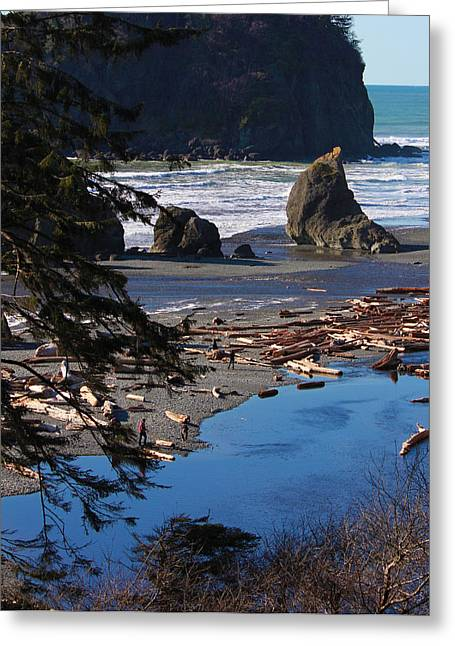 Ruby Beach IIi Greeting Card