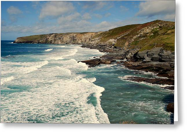 Greeting Card featuring the photograph Rugged Beauty by Lynn Hughes