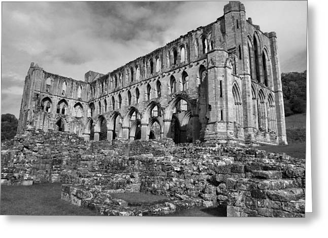 Ruins Of Rievaulx Abbey Greeting Card