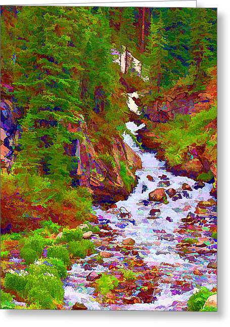 Runoff Greeting Card