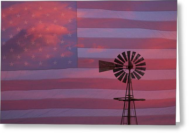 Rural America Greeting Card by James BO  Insogna
