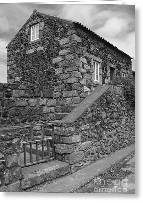 Rural Home Greeting Card by Gaspar Avila