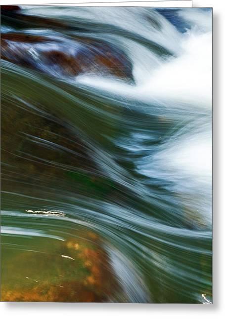 Rushing Water I Greeting Card