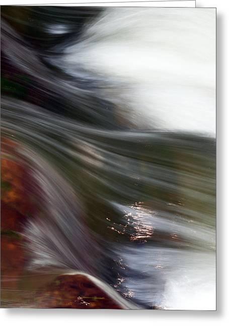 Rushing Water II Greeting Card
