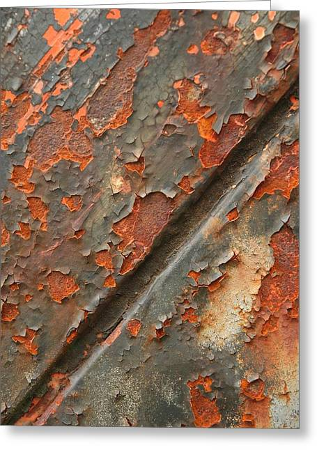 Rust IIi Greeting Card by Winston Rockwell