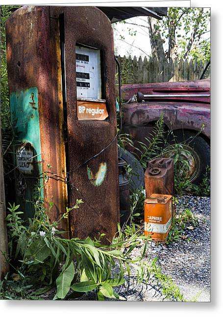 Rust Never Sleeps 2 Greeting Card by Peter Chilelli