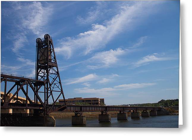 Greeting Card featuring the photograph Rusted Bridge by Stephanie Nuttall