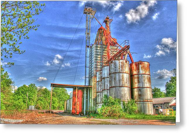 Rusted But Still Going Strong Greeting Card by Rick Ward