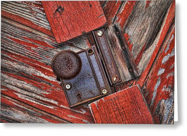 Rusty Dusty And Musty Greeting Card by Kathy Clark