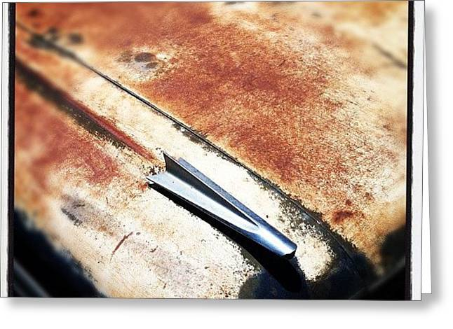Rusty El Camino Greeting Card
