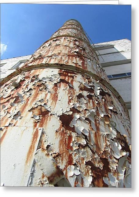 Rusty Tower Greeting Card by Todd Sherlock