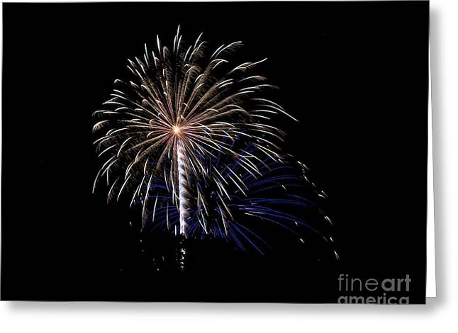 Rvr Fireworks 115 Greeting Card