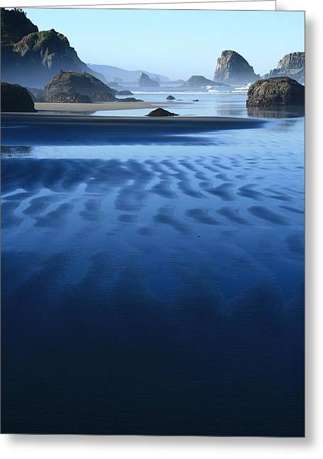 S Ecola Oregon Greeting Card