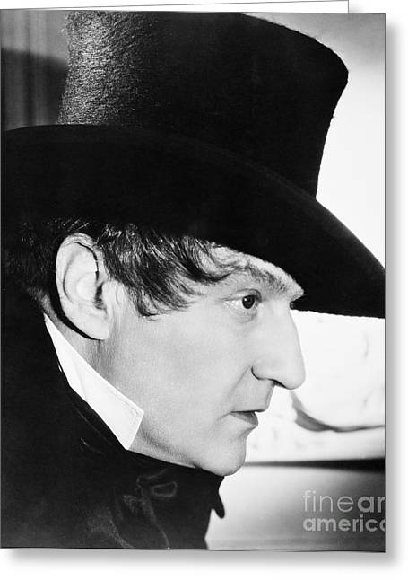 Sacha Guitry (1885-1957) Greeting Card by Granger