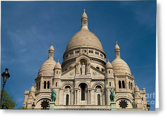 Sacre Coeur Cathedral Greeting Card