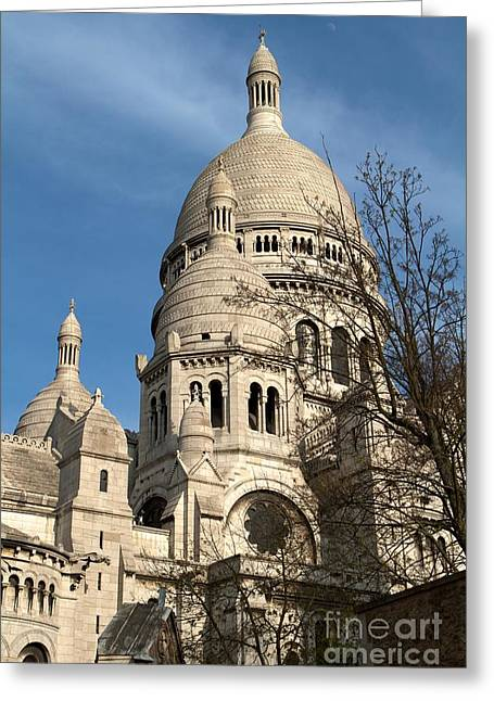 Sacre Coeur Tower Greeting Card