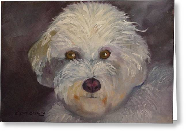 Sadie Greeting Card by Carol Berning