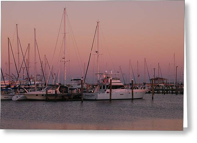 Greeting Card featuring the photograph Safe Harbor by Brian Wright