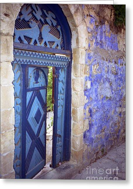 Safed Door Greeting Card