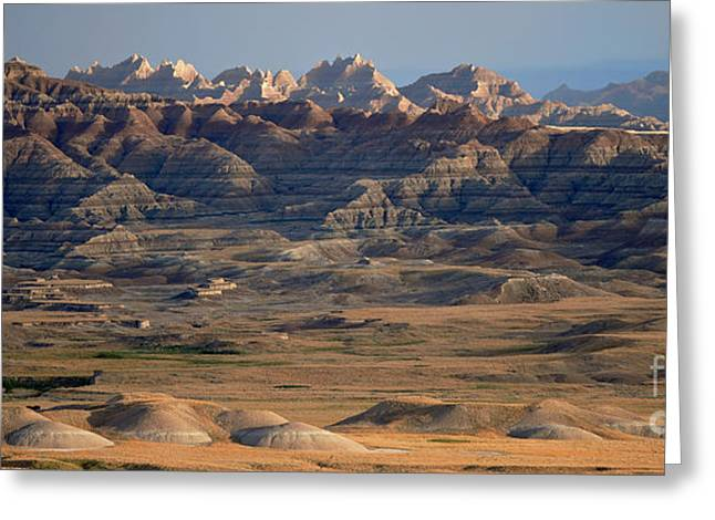 Sage Creek Wilderness Greeting Card by Chris Brewington Photography LLC