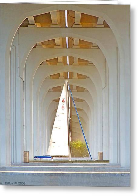 Sailboat Sanctuary Greeting Card