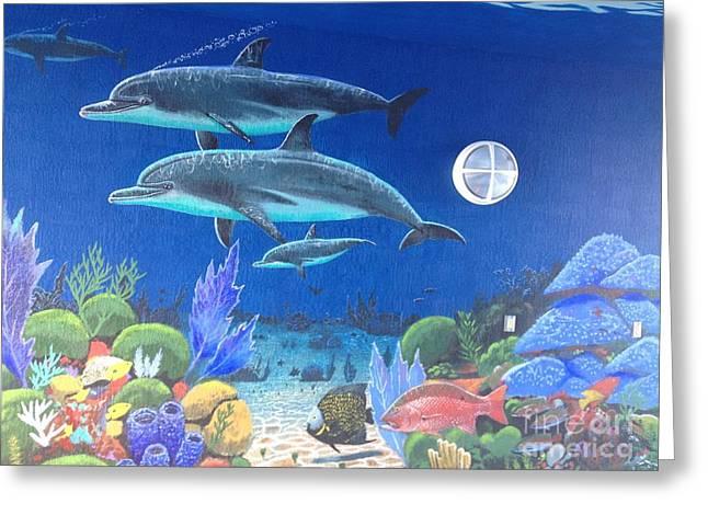 Sailfish Splash Park 2 Greeting Card