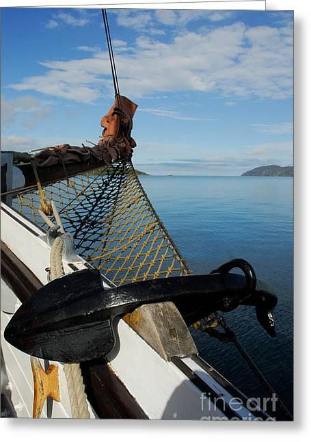 Sailing Through The Narrows Greeting Card