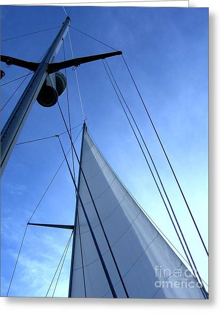 Sailing01 Greeting Card