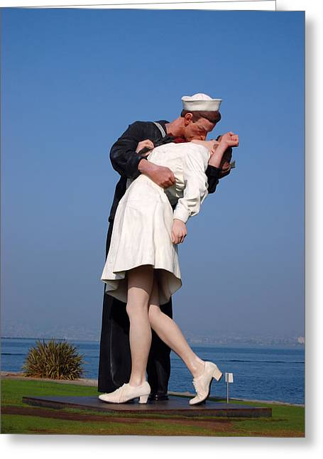 Sailor's Kiss Greeting Card
