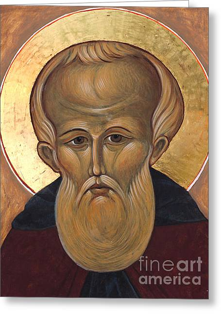 Saint Demetrius Greeting Card by Christine Hales