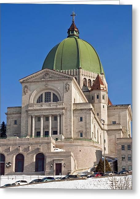 Saint Joseph Oratory. Greeting Card by Fernando Barozza