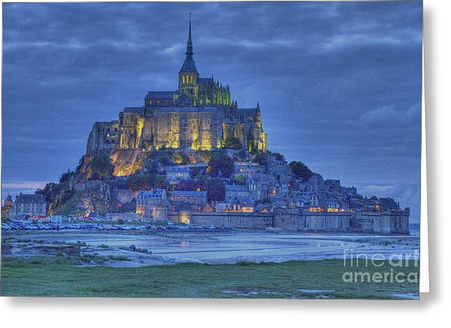 Saint Michaels Mount  Greeting Card by Heiko Koehrer-Wagner