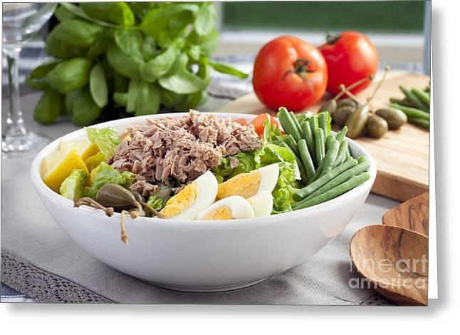 Salad Nicoise Greeting Card