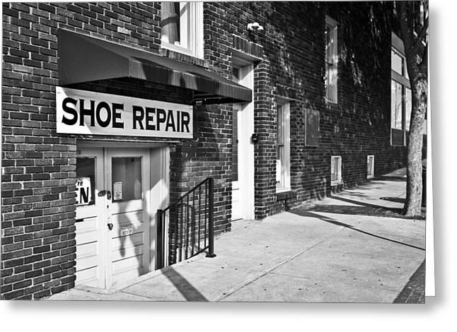 Salisbury Shoe Repair Greeting Card
