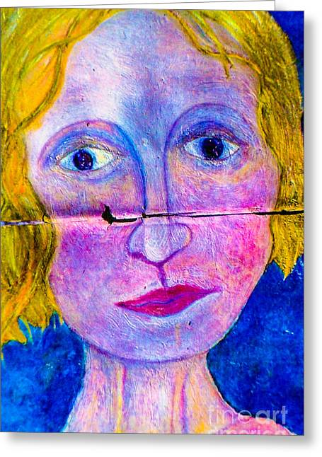 Sally Greeting Card by Bill Davis