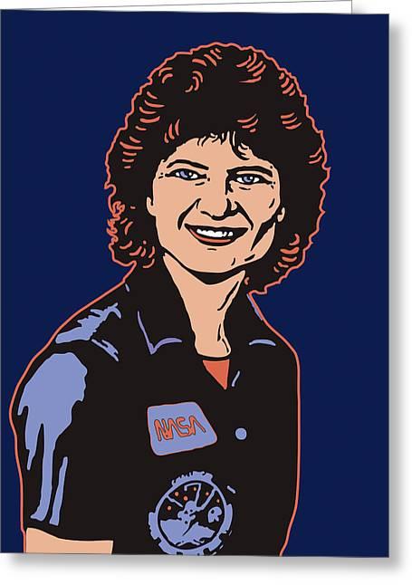 Sally Ride Phd Greeting Card