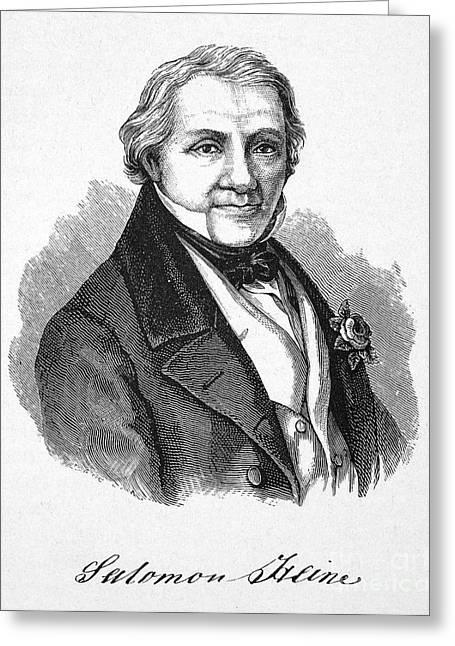 Salomon Heine (1767-1844) Greeting Card by Granger