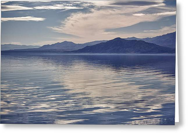 Salton Seascape Greeting Card by Linda Dunn