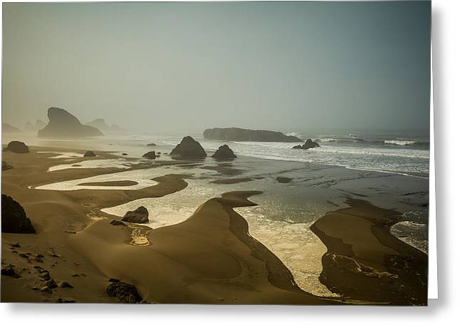 Greeting Card featuring the photograph Salty Fingers by Randy Wood