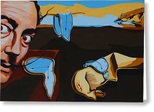 Salvador Dali - The Persistence Of Memory Painting by Dennis McCann