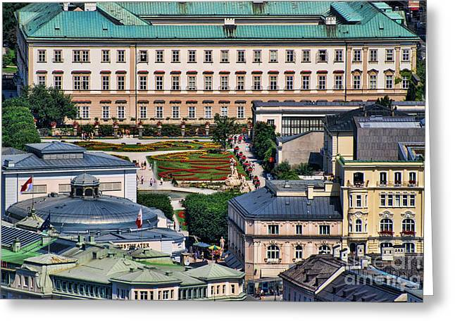 Salzburg II Austria Europe Greeting Card by Sabine Jacobs