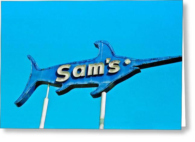 Sam's Greeting Card by Matthew Bamberg
