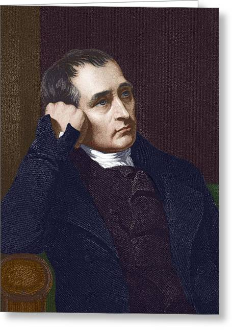 Samuel Crompton, British Inventor Greeting Card by Sheila Terry