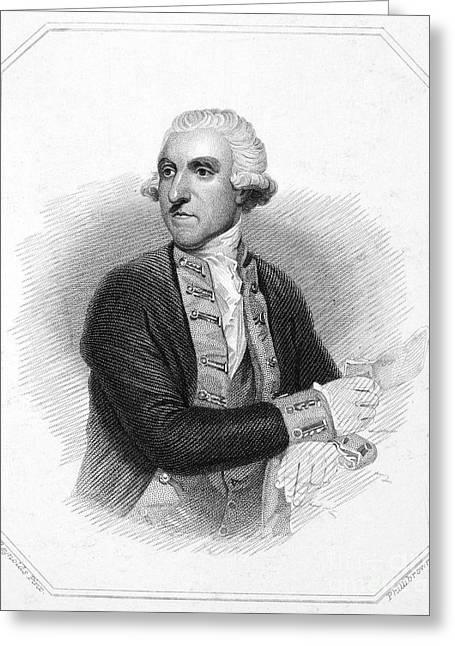 Samuel Hood (1724-1816) Greeting Card by Granger