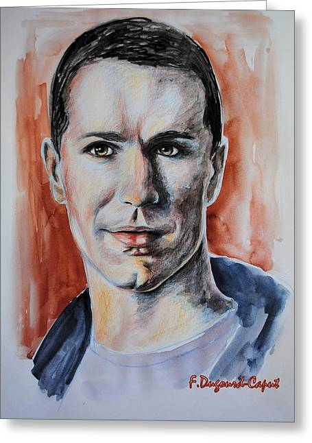 Samuel Witwer Greeting Card by Francoise Dugourd-Caput
