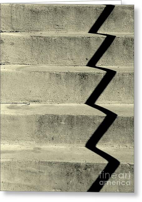 San Andreas Stairs Greeting Card