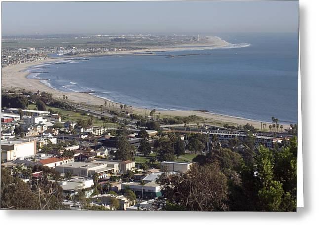 San Buenaventura State Beach Greeting Card by Rich Reid