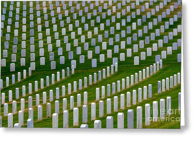 San Diego Military Memorial 2 Greeting Card by Bob Christopher